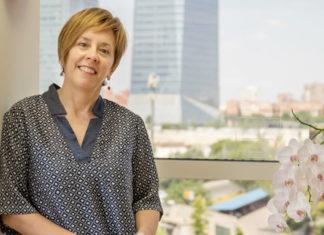 Marisol Soengas, nas instalacións do CNIO, onde dirixe o grupo de Melanoma desde 2008.