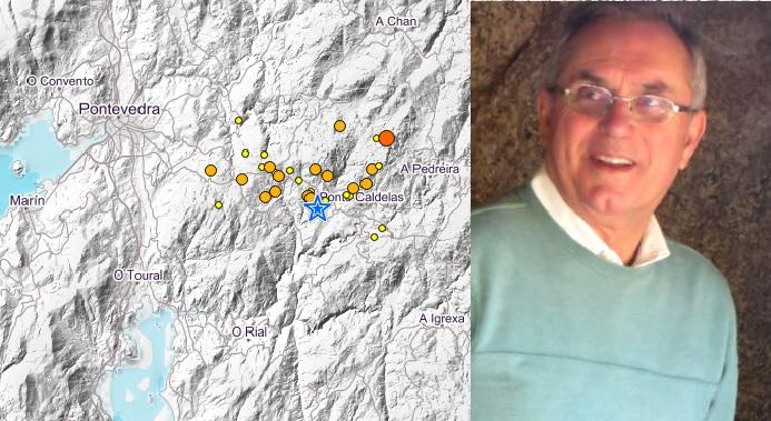 Vidal Romaní sinala que os sismos na zona de Ponte Caldelas poderían continuar.