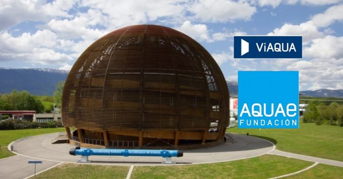 A Fundación Aquae, impulsada por Viaqua, é a primeira institución española en unirse á fundación CERN&Society.