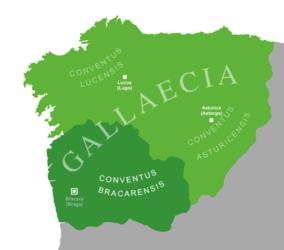 O relato de Exeria fai algunhas referencias ao territorio de Gallaecia coma, por exemplo, na linguaxe.