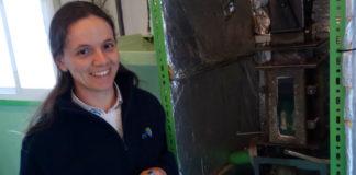 A tese de Regueiro aborda o problema das emisións e os residuos das caldeiras de biomasa. Foto: DUVI.