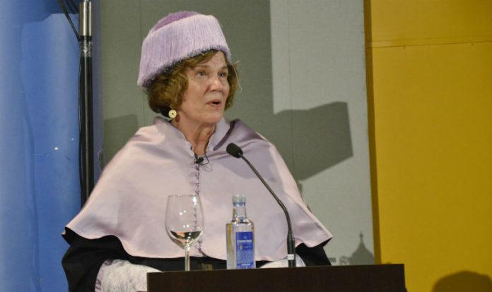 Jacquelyn C. Campbell durante o seu discurso. Foto: Duvi.