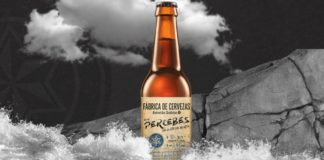 Deseño da cervexa de Estrella Galicia con sabor a percebe. Fonte: Estrella Galicia.