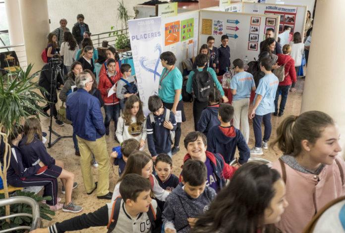 Os científicos do futuro deron os seus primeiros pasos en Pontenciencia. Imaxes: Anxo Iglesias.
