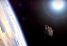 A sonda New Horizons avanza a unha velocidade aproximada dun millón de quilómetros diarios