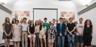 Foto de familia dos finalistas de Inspiraciencia 2018. Imaxe: CSIC.