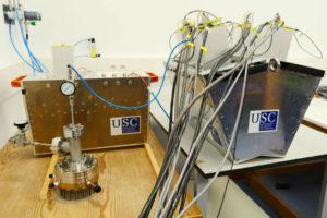 Parte do detector Califa. Imaxe: USC.