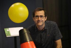 Marcos Pérez Maldonado é o director dos Museos Científicos Coruñeses. Foto: Anxo Iglesias.