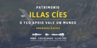 Portada da web Cíes Patrimonio.