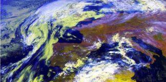 Os restos de Helene apenas tocarán Galicia e dirixiranse cara as Illas Británicas. Fonte: MeteoGalicia.