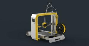 Modelo propio de impresora desarrollado por ITFAB.