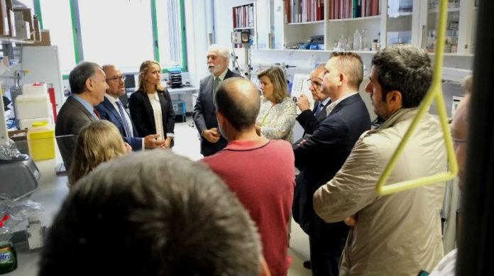 Acto de inauguración da nova unidade de Oftalmoloxía do CiMUS. Foto: Servimav.