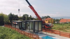 Emsamble constrúe vivendas en tempo récord.