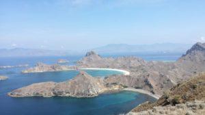 Vistas desde a illa de Padar.