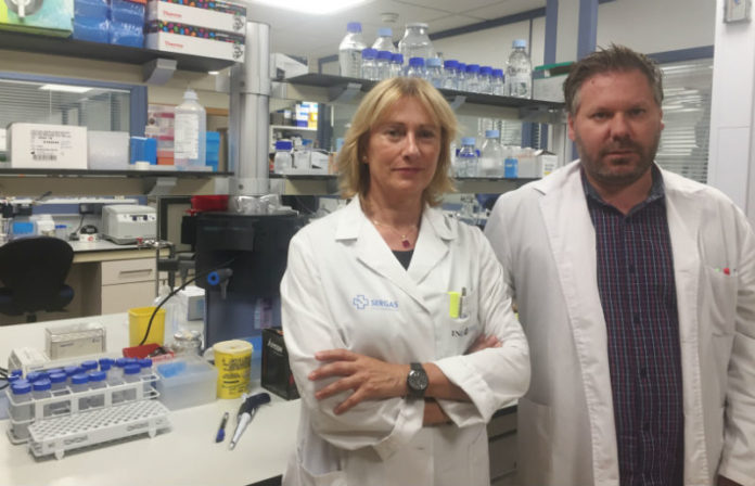 Isabel Lema e Tomás Sobrino, coordinadores da investigación. Foto: IDIS.