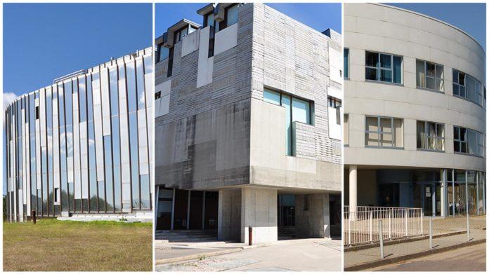 Exeria, Ernestina Otero e Filomena Dato darán nome aos edificios administrativos do campus de Vigo. Imaxe: Duvi.