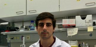 """Ismael González García, primeiro autor do artigo sobre a hormona estradiol publicado en """"Cell Reports"""". Foto: USC."""