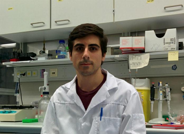 Ismael González García, primeiro autor do artigo sobre a hormona estradiol publicado en