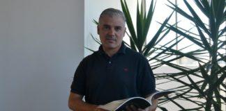 """Carlos Lago, coautor de """"Os números do gol"""". Foto: Duvi."""