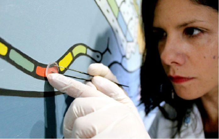 O novo 'kit de diagnóstico' permite alertar de riscos ante a degradación de obras de arte. Foto: A.R./ CiQUS.