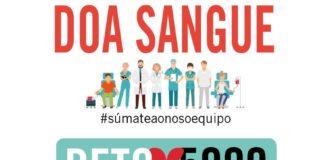 Cartel da campaña de doazón de sangue deste xoves 4 de outubro. Fonte: Axencia de Doazón de Órganos e Sangue de Galicia.