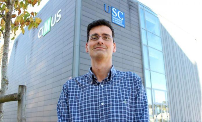 Rubén Nogueiras é doutor en Bioloxía pola USC, onde exerce como profesor titular dende 2014. Foto: Andrés Ruiz.