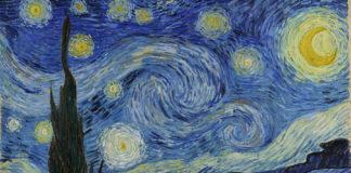 """""""A noite estrelada"""", de Vincent Van Gogh."""