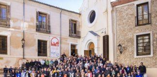 Foto de familia do Congreso de Astronomía de Cuenca. Imaxe: Antonio Cebrián.