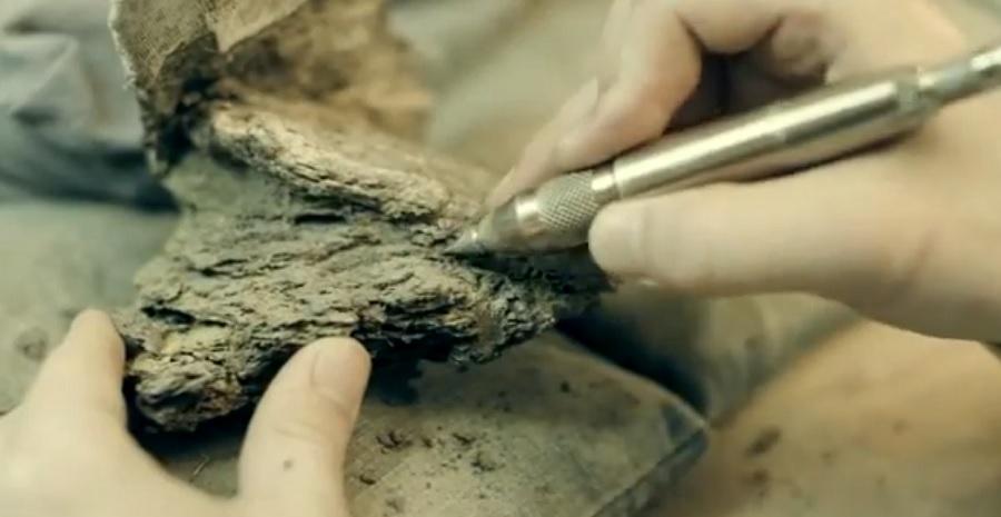 Unha das curtas conta a historia do dinosauro de RIcla, en Aragón. Fonte: MCN Zaragoza.