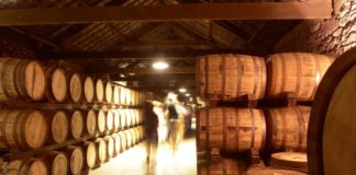 Bodega de whisky. Foto: Irish Destillers.