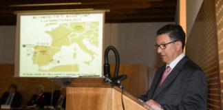 José Rivas, no seu discurso de ingreso na Real Academia Galega de Ciencias.