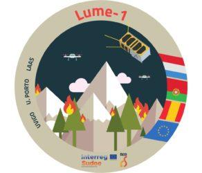 Logo do satélite Lume-1. Fonte: Alén Space.