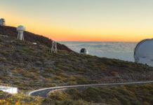 Roque de los Muchachos, un dos grandes observatorios de Canarias. Foto: IAC.