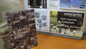 Documentos incluídos na mostra do Arquivo Vivo de Burla Negra. Foto: USC.