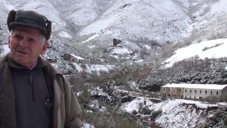 José Barrio, antigo garda da mina de Valborraz. Fonte: Incipit/Youtube.