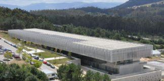 O Laboratorio Europeo e Nacional de Referencia de Biotoxinas Mariñas de Vigo está no campus universitario. Foto: Duvi.