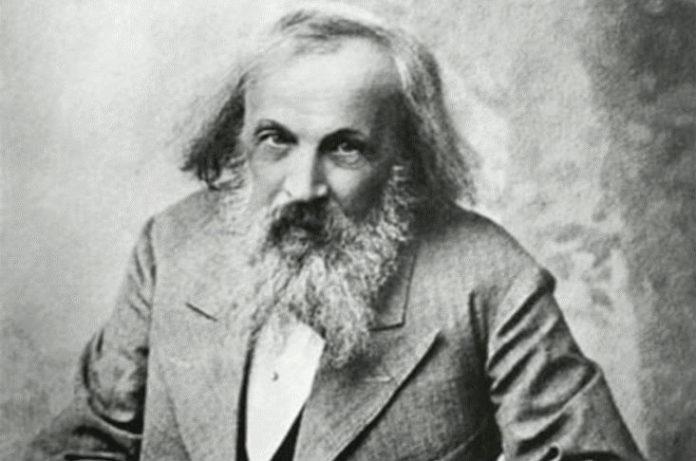 Dimitri Mendeleiev.