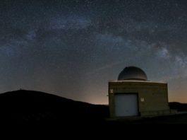 Observatorio de Cotobade. Foto: Ángel R. D. Arós.