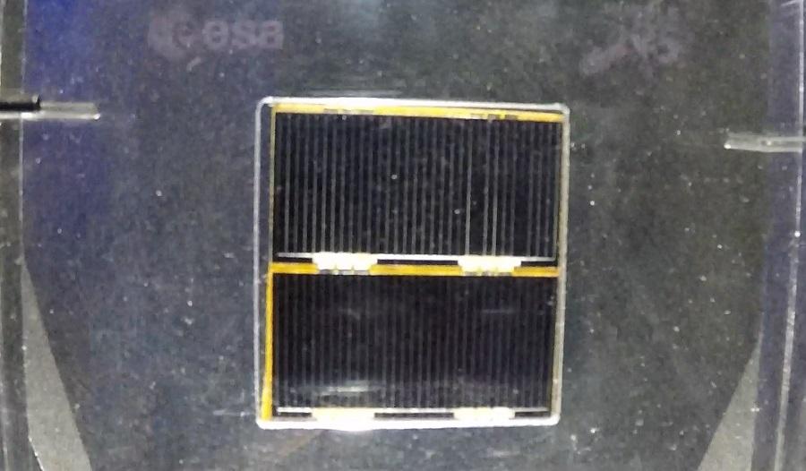 O panel solar do Hubble pode verse na exposición