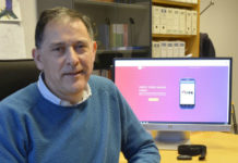 Pedro Cuesta, profesor do campus de Ourense, é o responsable do proxecto. Foto: Duvi.