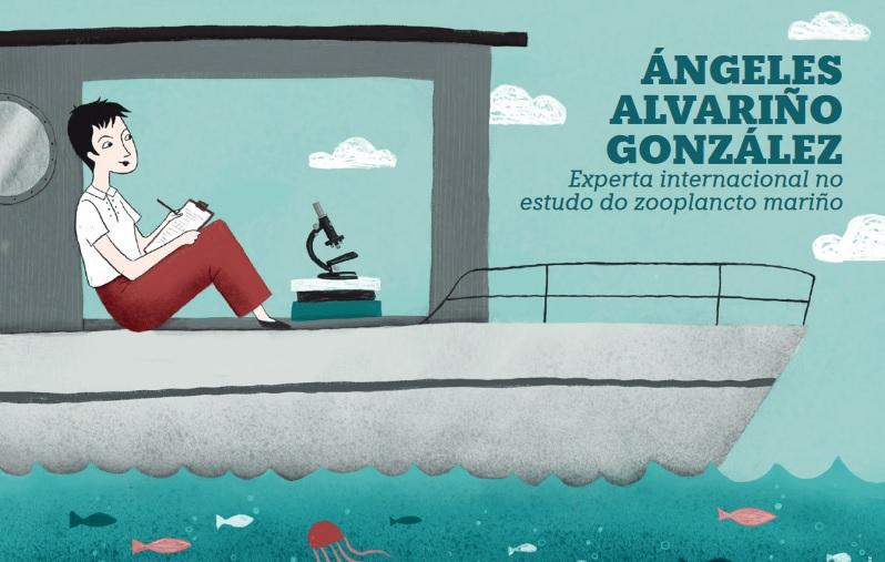 A escolma de 30 biografías vai acompañada con ilustracións de Nuria Díaz.