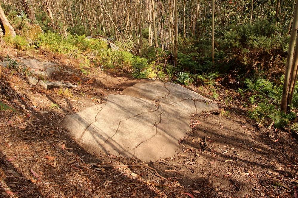 Petroglifos de Pedra da Loba (Villestro-Santiago). Foto: Colectivo A Rula.