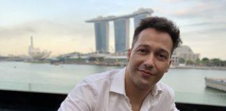 Rubén Ramos Balsa, en Singapur.