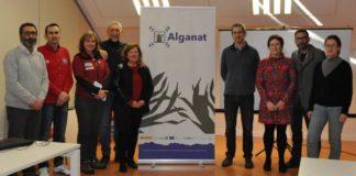 Investigadoras e investigadores da Universidade e de Parques Nacionais que participan no proxecto Alganat2000. Fonte: Duvi.