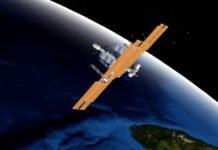 Animación da ISS en 3D. Fonte: Heavens Above.