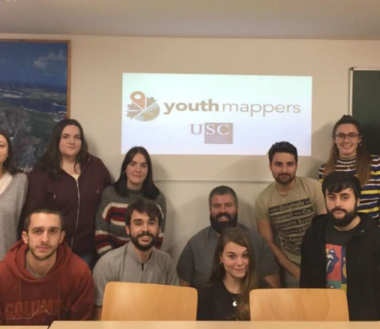 Equipo de Youth Mappers USC.