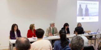 Reunión de traballo sobre a Memoria Dixital de Galicia celebrada no Gaiás. Foto: Amtega.