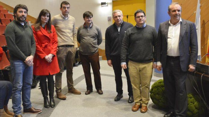 Imaxe da presentación de Geo4Radon, con representantes das entidades implicadas. Fonte: Duvi.