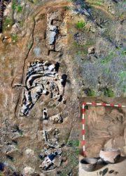 Imaxes do xacemento de Castillejo del Bonete. Fonte: CSIC.