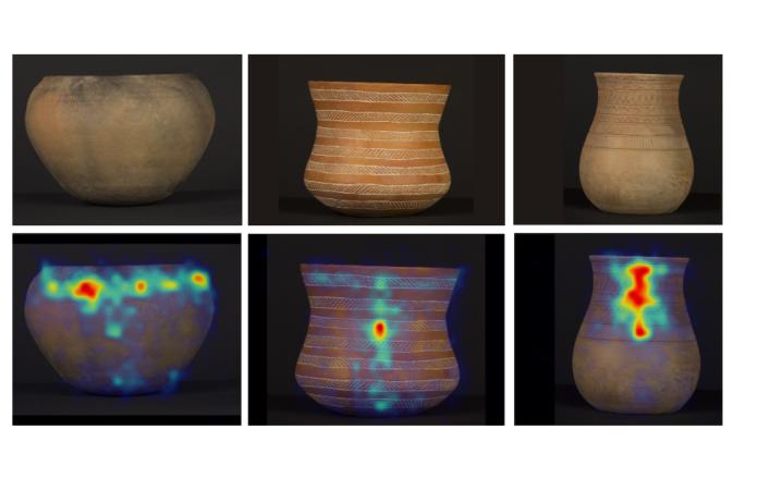 Os investigadores analizaron diversos obxectos que abranguen 4.000 anos da prehistoria de Galicia. Fonte: CSIC.